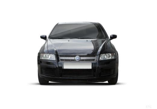 FIAT Stilo II hatchback czarny przedni