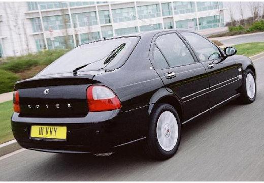 ROVER 45 hatchback czarny tylny prawy