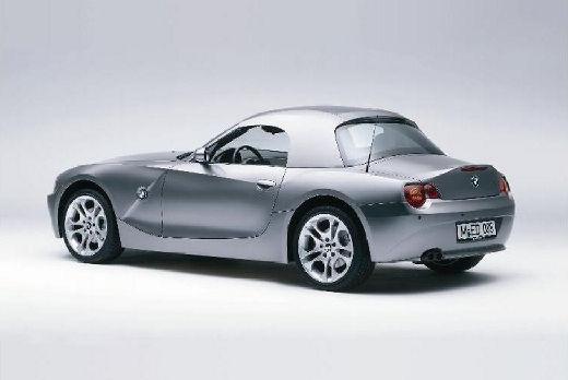 BMW Z4 E85 I roadster szary ciemny tylny lewy