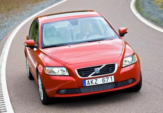 VOLVO S40 V sedan czerwony jasny przedni prawy