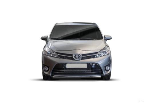 Toyota Verso II kombi mpv szary ciemny przedni