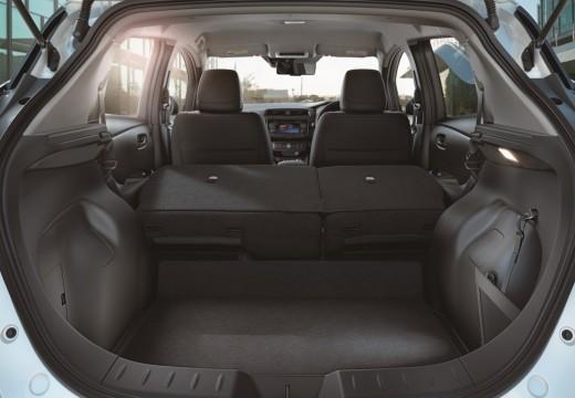 NISSAN Leaf II hatchback przestrzeń załadunkowa