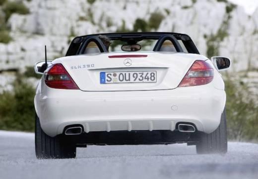 MERCEDES-BENZ Klasa SLK roadster biały tylny