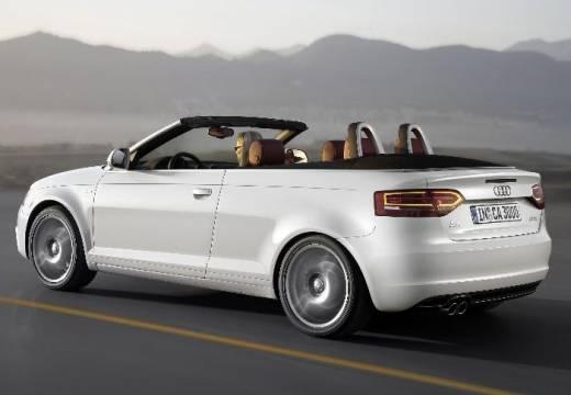 AUDI A3 Cabriolet kabriolet biały tylny lewy