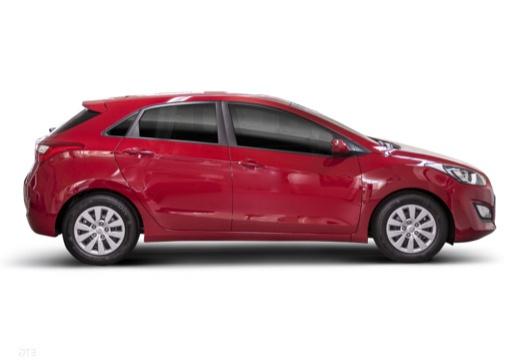 HYUNDAI i30 IV hatchback czerwony jasny boczny prawy