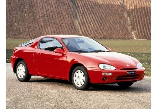 MAZDA MX-3 coupe czerwony jasny przedni prawy