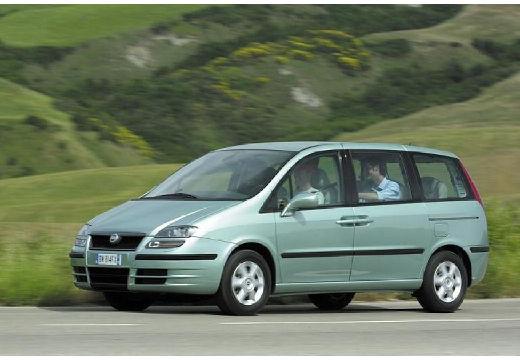 FIAT Ulysse III van zielony jasny przedni lewy