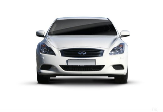 INFINITI G37 coupe biały przedni