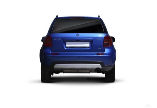 SUZUKI SX4 II hatchback niebieski jasny tylny