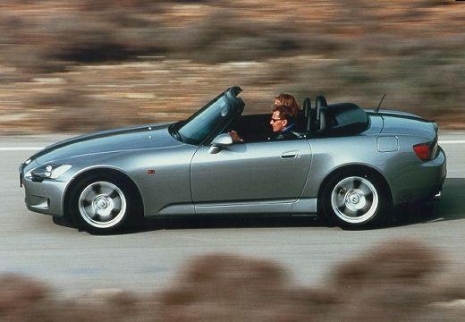 HONDA S 2000 roadster silver grey boczny lewy