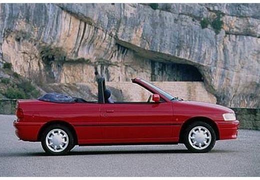 FORD Escort Cabriolet III kabriolet czerwony jasny boczny prawy
