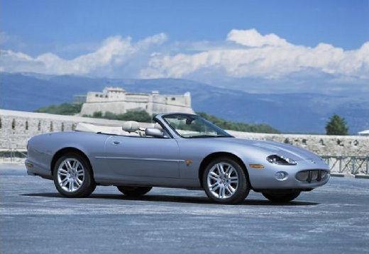 JAGUAR XK8 Convertible kabriolet silver grey przedni prawy