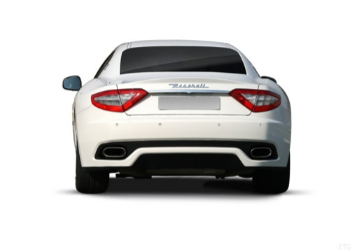 MASERATI Granturismo GranTurismo coupe biały tylny