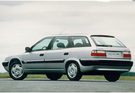 CITROEN Xantia Break kombi silver grey tylny lewy