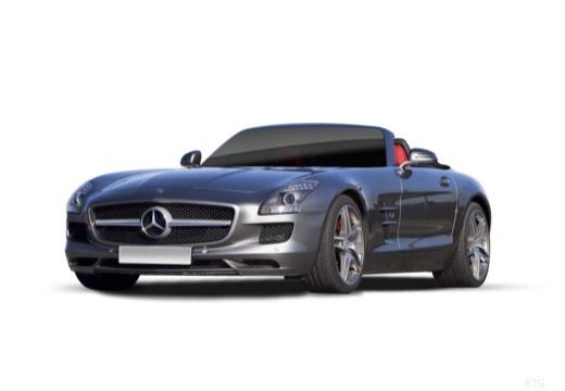 MERCEDES-BENZ SLS AMG roadster przedni lewy