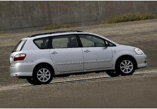 Toyota Avensis Verso II van silver grey tylny prawy