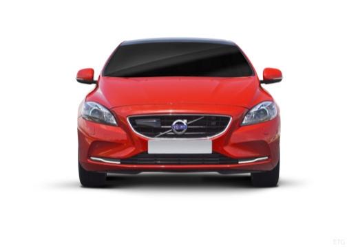 VOLVO V40 IV hatchback czerwony jasny przedni