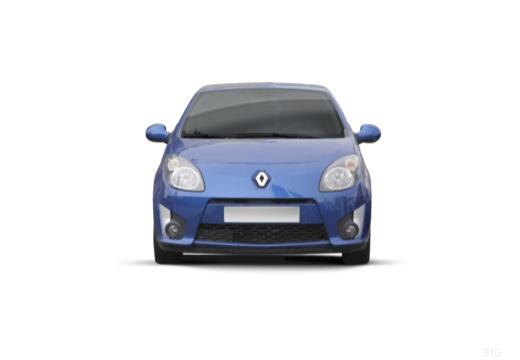 RENAULT Twingo hatchback niebieski jasny przedni