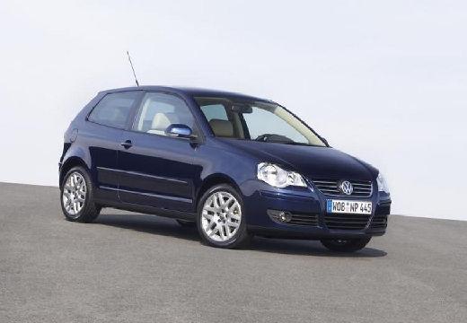 VOLKSWAGEN Polo IV II hatchback niebieski jasny przedni prawy
