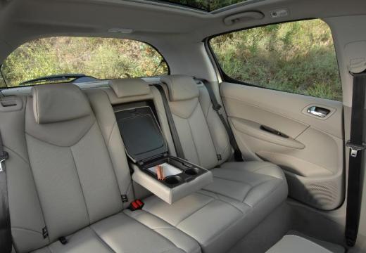 PEUGEOT 308 I hatchback silver grey wnętrze