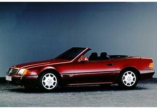 MERCEDES-BENZ Klasa SL SL R129 I kabriolet bordeaux (czerwony ciemny) przedni lewy