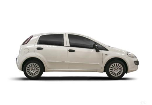 FIAT Punto Evo hatchback biały boczny prawy
