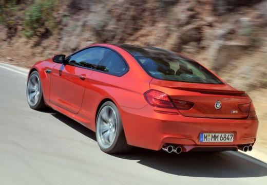 BMW Seria 6 F13 I coupe czerwony jasny tylny lewy