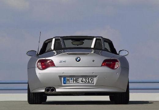 BMW Z4 E85 II roadster silver grey tylny