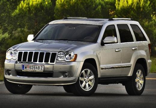 JEEP Grand Cherokee kombi silver grey przedni lewy
