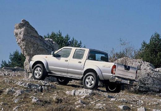 NISSAN Pick Up pickup silver grey tylny lewy
