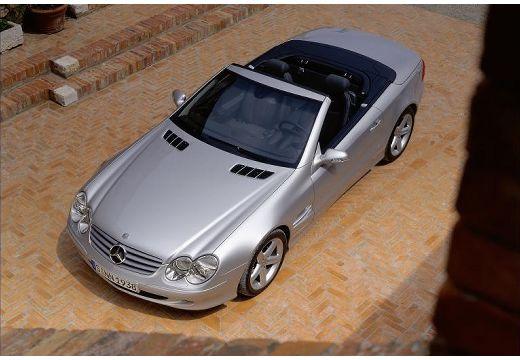 MERCEDES-BENZ Klasa SL SL 230 I roadster silver grey górny przedni