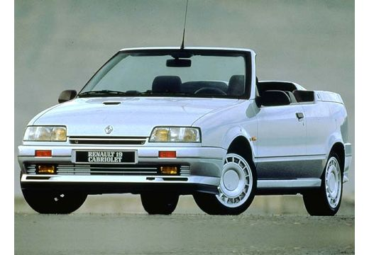 RENAULT R19 kabriolet biały przedni lewy