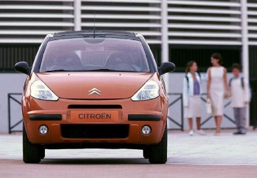 CITROEN C3 Pluriel hatchback pomarańczowy przedni