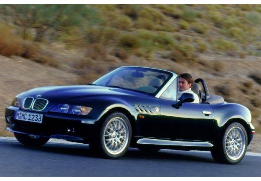 BMW Z3 roadster czarny przedni lewy