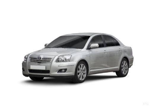Toyota Avensis IV sedan silver grey przedni lewy