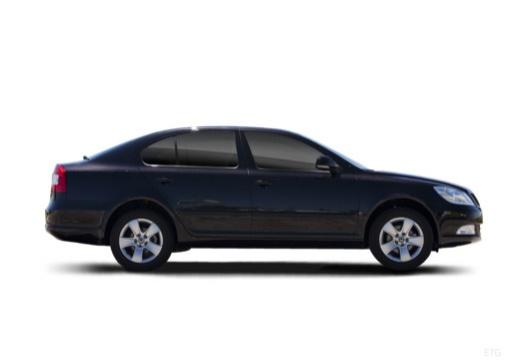 SKODA Octavia II II hatchback boczny prawy
