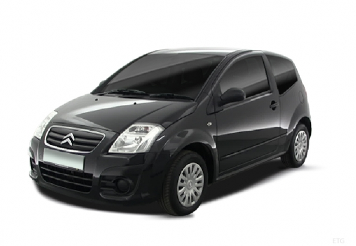 CITROEN C2 hatchback czarny