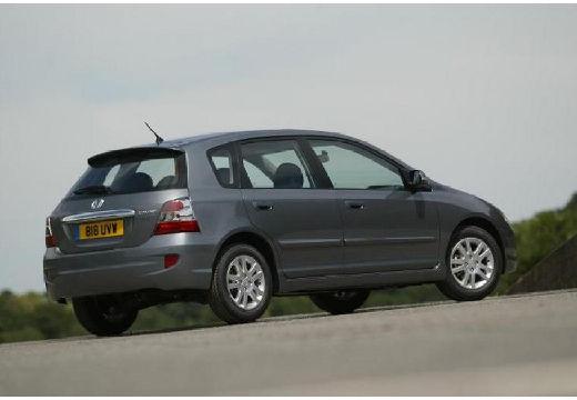 HONDA Civic V hatchback silver grey tylny prawy