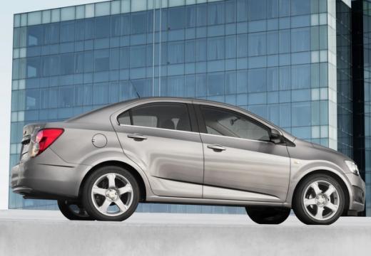 CHEVROLET Aveo III sedan silver grey tylny prawy