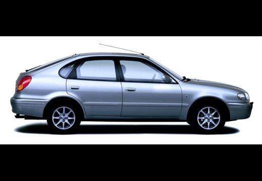 Toyota Corolla hatchback silver grey boczny prawy