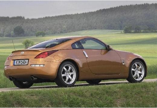 NISSAN 350 Z I coupe złoty tylny prawy