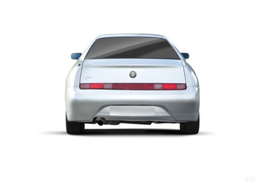 ALFA ROMEO GTV II coupe silver grey tylny