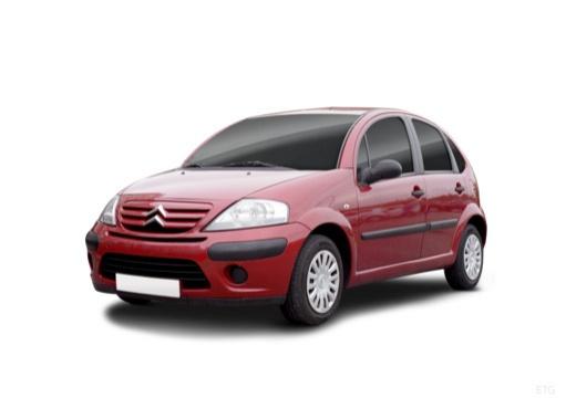 CITROEN C3 II hatchback czerwony jasny przedni lewy