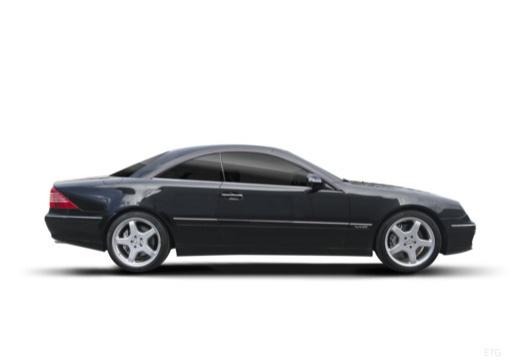 MERCEDES-BENZ Klasa CL 215 coupe boczny prawy