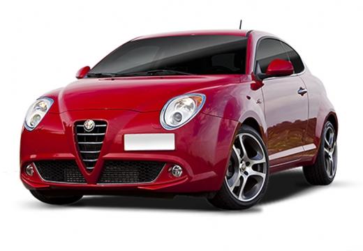 ALFA ROMEO MiTo I hatchback czerwony jasny