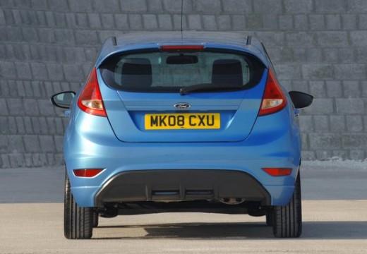 FORD Fiesta VII hatchback niebieski jasny tylny