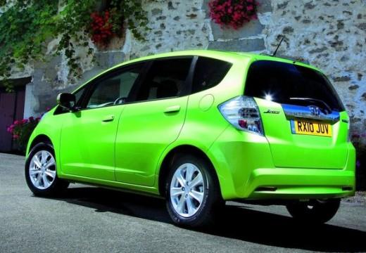 HONDA Jazz III hatchback zielony tylny lewy