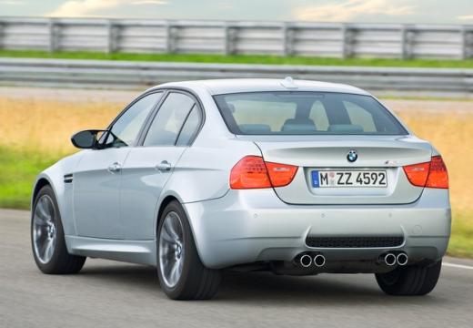 BMW Seria 3 E90 II sedan silver grey tylny lewy