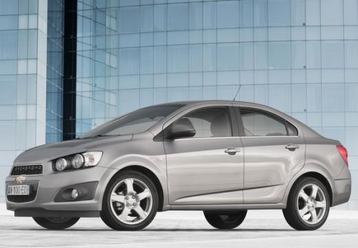 CHEVROLET Aveo sedan szary ciemny przedni lewy