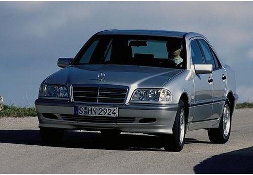 MERCEDES-BENZ Klasa C HO 202 II sedan silver grey przedni lewy